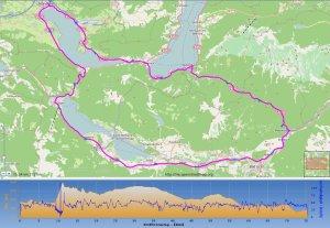 Strecke & Höhenprofil
