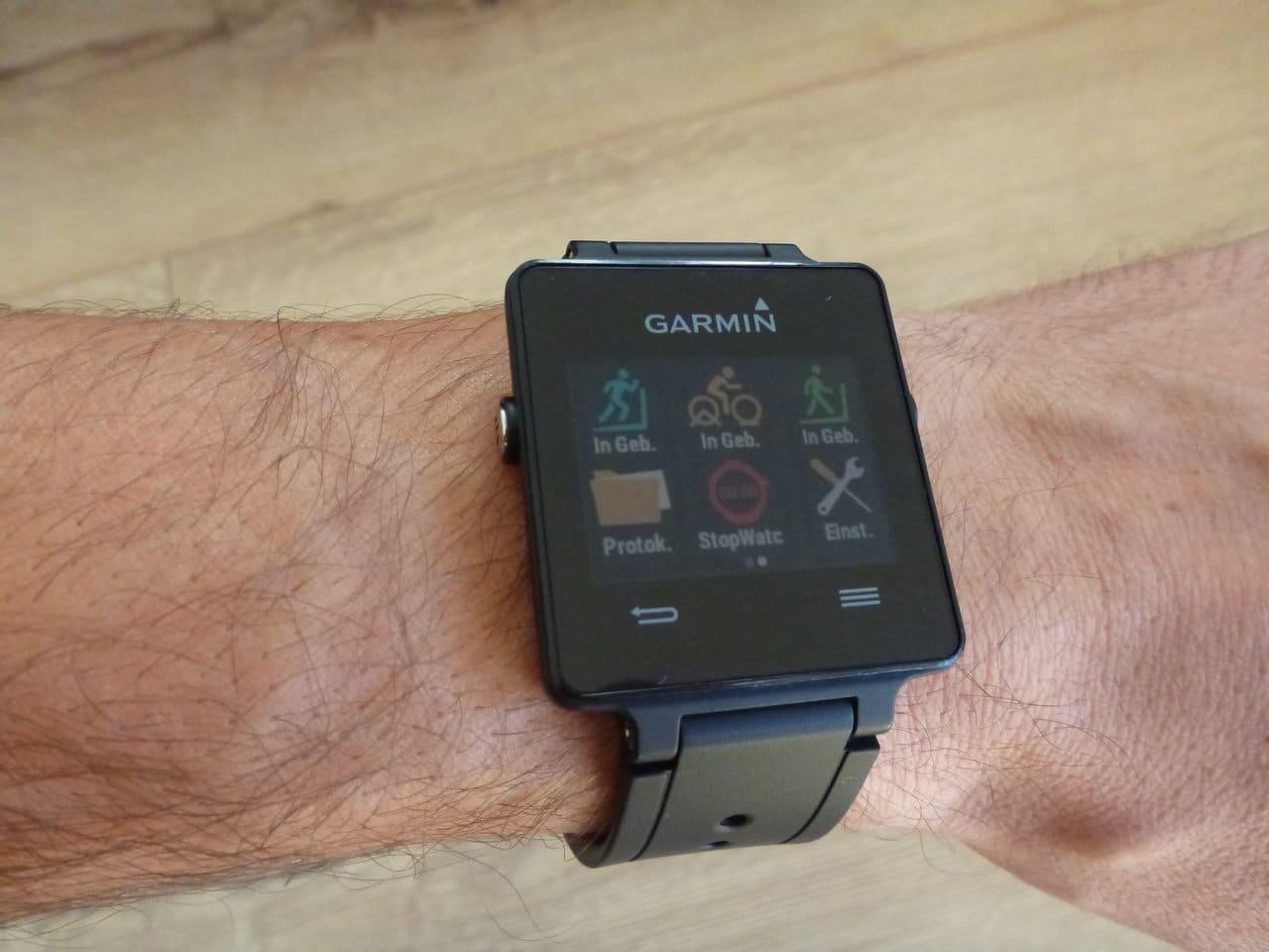 Garmin Vivoactive – im Kurztest, da fehlt nicht viel!