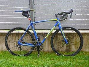 Merida Cyclo Cross 6000 zum Straßenrenner umgebaut