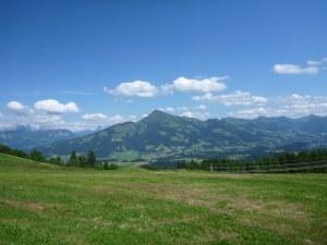 Blick vom Astberg auf das Kitzbühler Horn