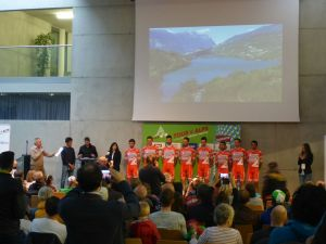 Tour oft the Alps 2017 Teampräsentation