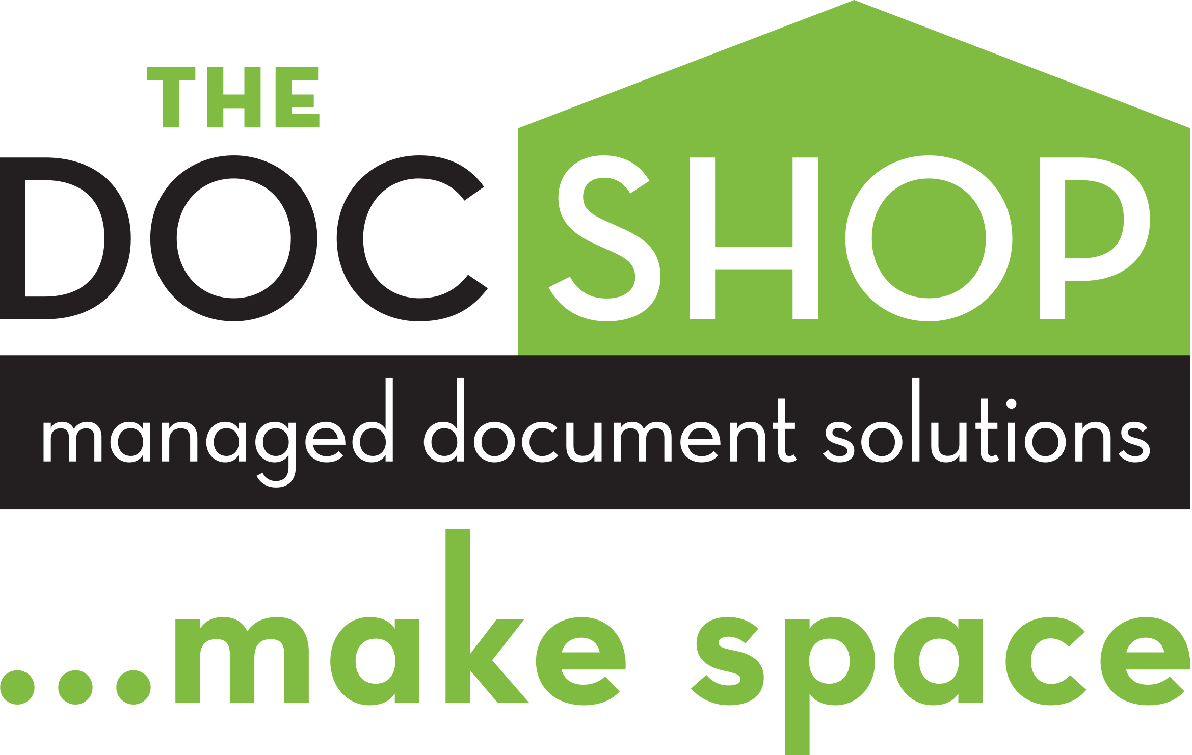 The Docshop logo with make space PREFERRED - Netball