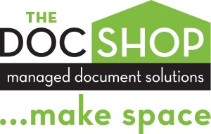 The Docshop logo with make space RGB