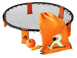 Rebound Ball Game Set - 3 Bälle, Tunnelzug, Pumpe und Regeln - EIN episches Ballspiel mit schnellen Reaktionen - 1