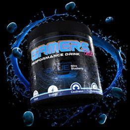 Gamers Only Blue Nitro Blaubeere, 80 Portionen, 400 gramm - 1
