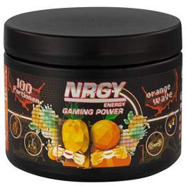 NRGY Gaming Power Pulver - 400g 100 Portionen - Orange Wave Tropical - eSports Energy Drink Pulver Booster für Gamer - Booster für Euer Game für mehr Konzentration - 1