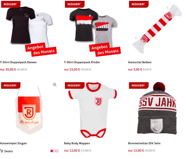 SSV Jahn Regensburg Sale
