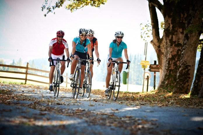 Rennradtour in der Region Flachau im Salzburgerland