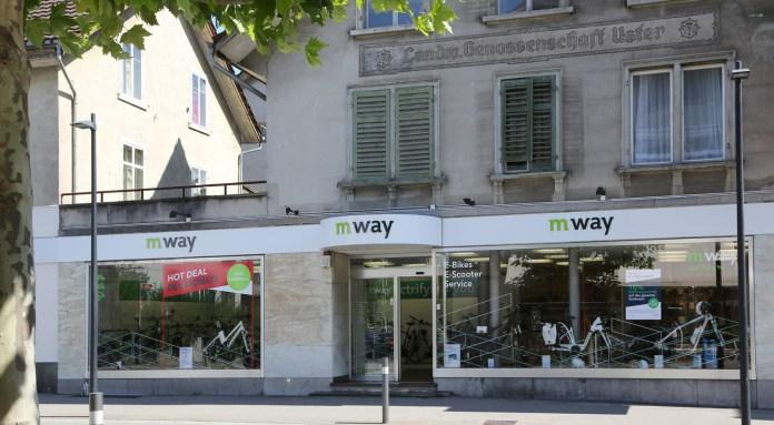 m-way Shop Uster