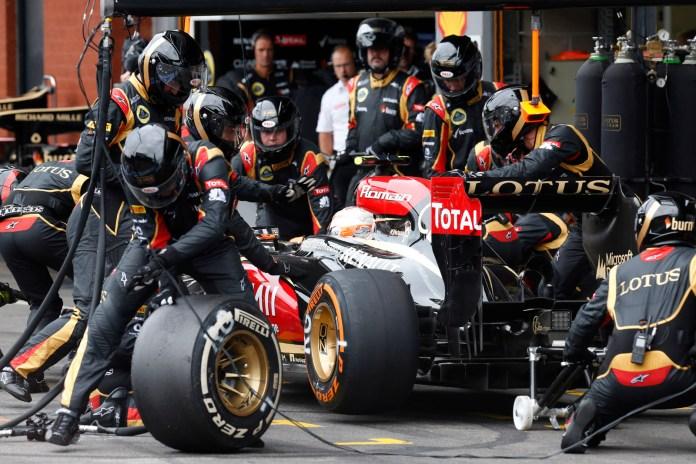 Formel1 - Grosser Preis von Belgien: Lotusbox