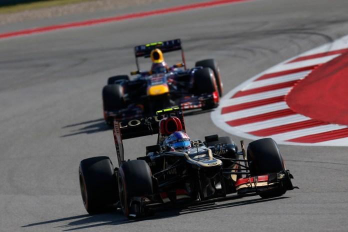Formel 1 - GP USA 2013, Lotus, Grosjean