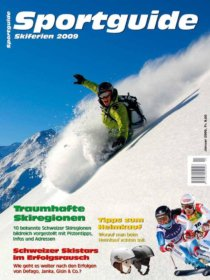 Sportguide Skiferien 2009, Cover