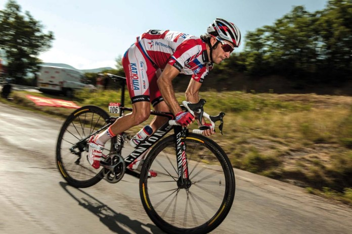 Das Katuscha Pro Team fährt das Pure Cycling (Canyon in Deutschland)