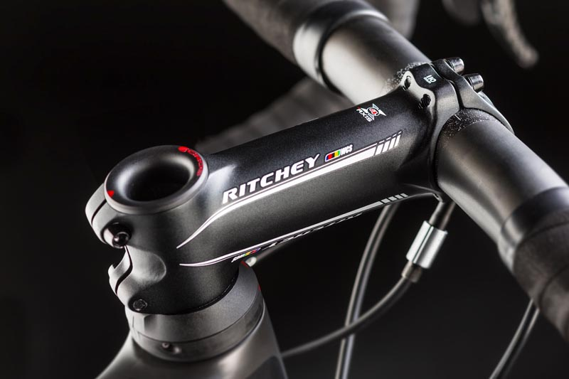Pure Cycling Ultimate CF SLX 9.0, Ritchey WCS 4-Axis Vorbau