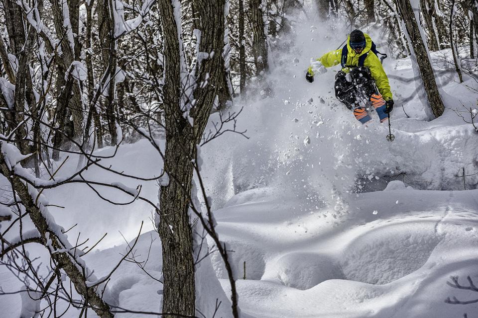 Andy Mahre Skiing at Kiroro