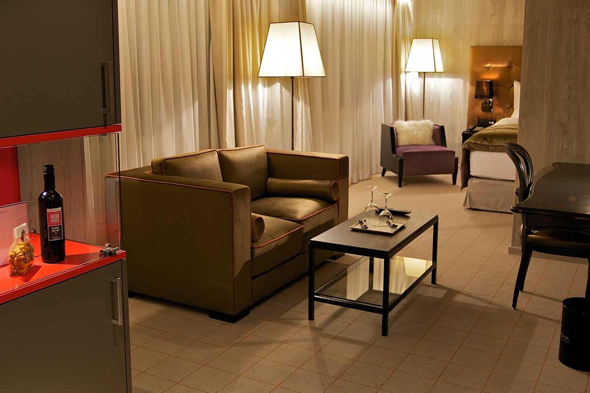 Hotel Grischa, Suite/Zimmer