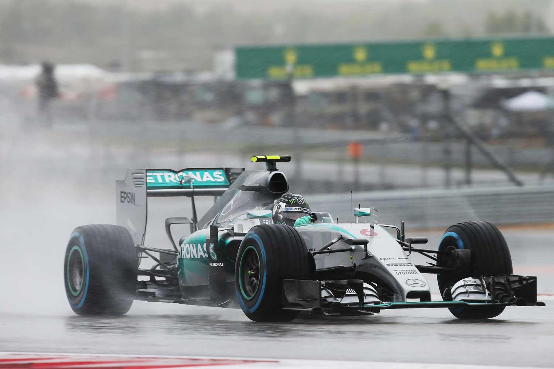 F1-GP-USA2015_Rosberg-on-track