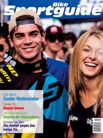 Magazin-Cover der Ausgabe Sportguide Bike 1/2016
