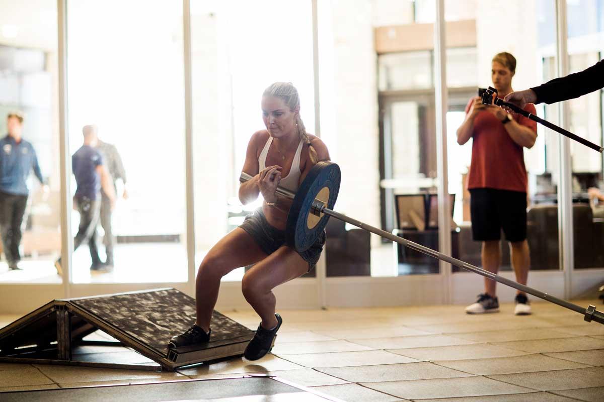 Bild Lindsey Vonn Training