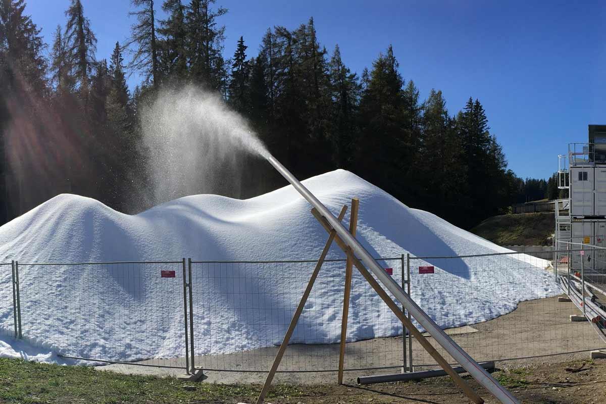 Bild3 Schneemangel Snowfactory Lenzerheide, 2016/17