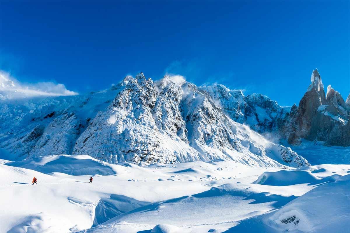 Zustieg zum Cerro Standhardt