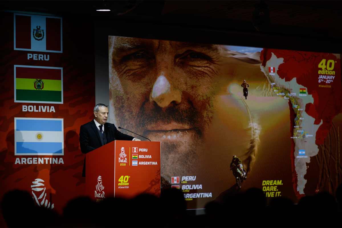 Dakar2018-22Nov17-Pressekonferenz-Renndirektor-Etienne-Lavigne-Fotocredit-DPPI-Frédéric-Le-Floc'h-web