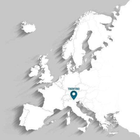 Europakarte Trentino