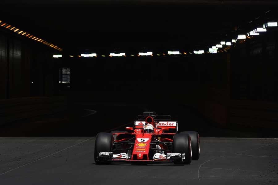F1, GP-Monaco, Sebastian Vettel