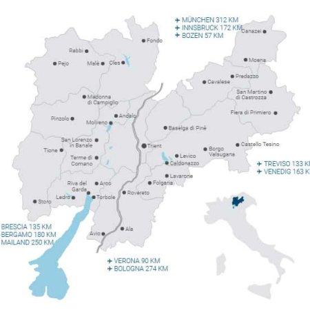 Trentino Karte