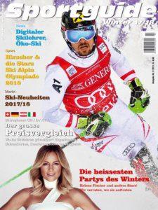Sportguide Winter, 2/2017, Cover