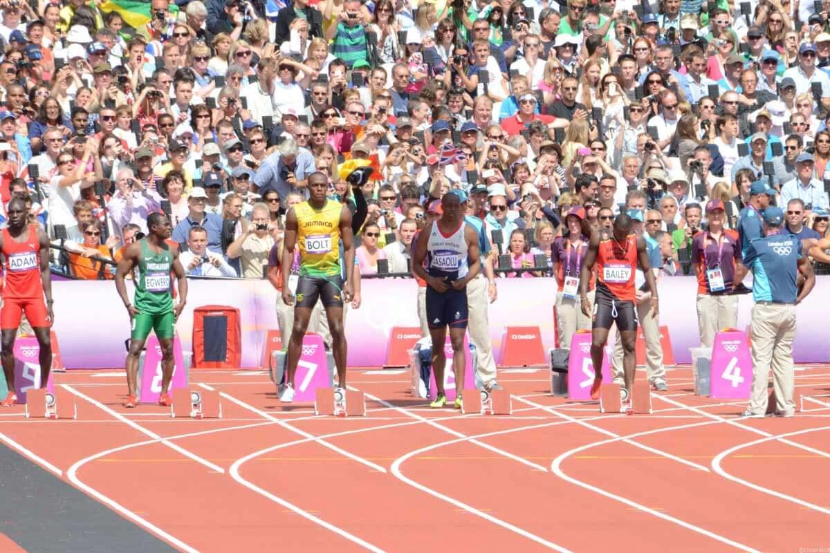 Usain Bolt, Olympiade 2012, 100 m