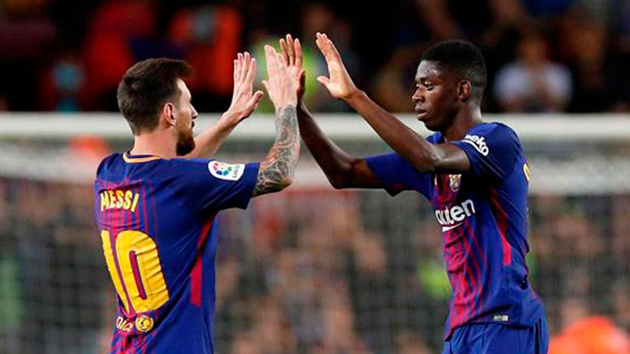 Barcelona anuncia el regreso de Dembélé