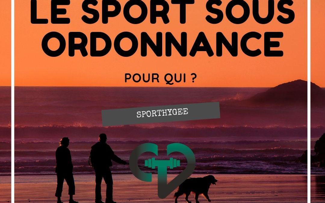 Article 2- Le sport sous ordonnance. 3/4
