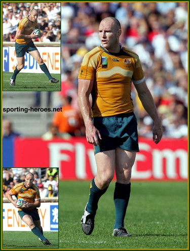 Stirling Mortlock - 2007 World Cup - Australia