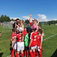 Sporting Kristinan T8 (tytöt 2013-2014) starttasivat juniorcupin Maalahdessa.