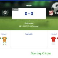 VPV - Sporting Kristina
