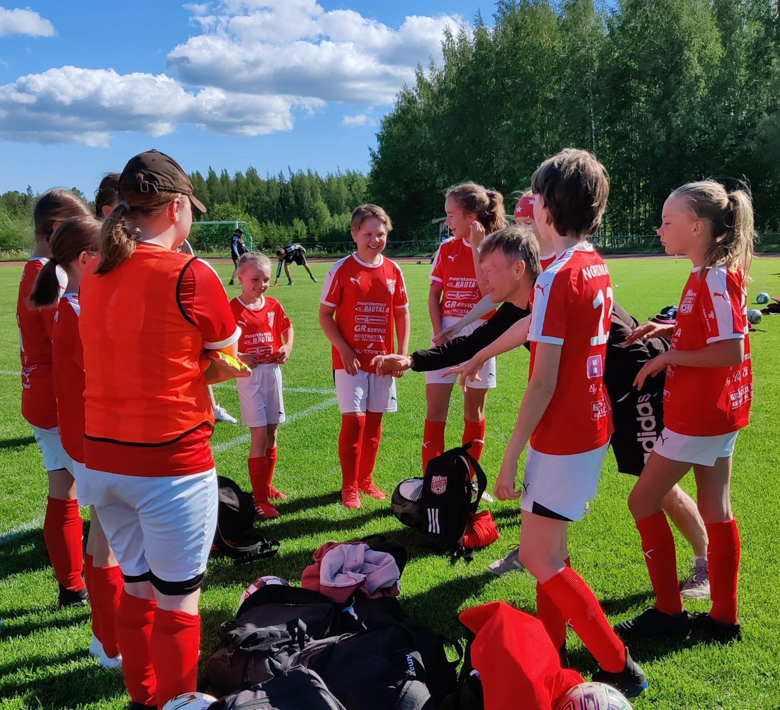 You are currently viewing T12 joukkue pelasi kaksi Juniorcupen ottelua 13.6.2021