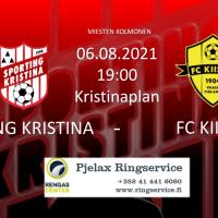 Sporting - FC Kiisto 6.8.2021