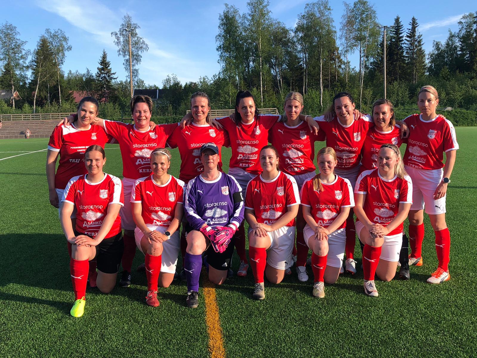 Läs mer om artikeln Sportings damer inledde serien igår i Vasa, Real Mama- Sporting 1-1