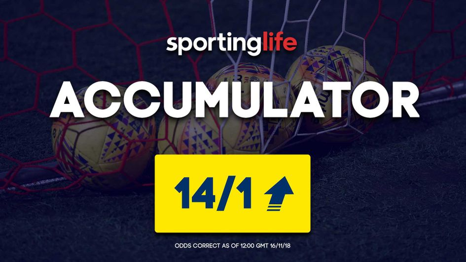 Sporting Life Accumulator Four Fold For Efl Enhanced With