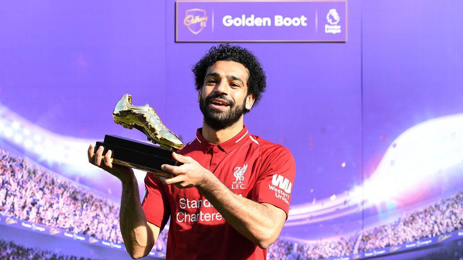 Mohamed Salah wins the Premier League Golden Boot award