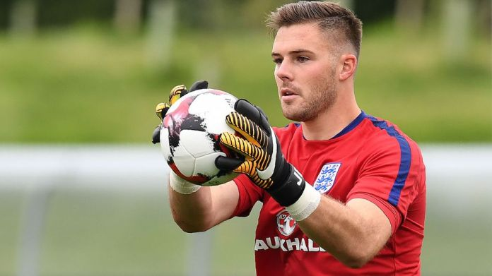 Jack Butland was given a start by England