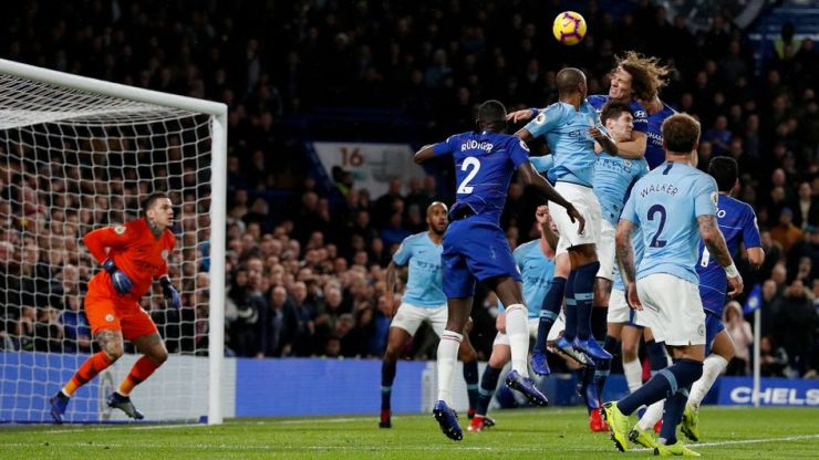 Image result for chelsea 2-0 manchester city