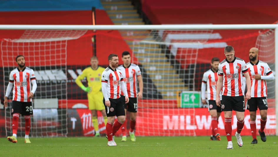 Sheffield United relegated from Premier League after 1-0 defeat to Wolves