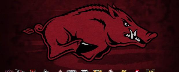 Arkansas Razorback Hogs Wallpaper