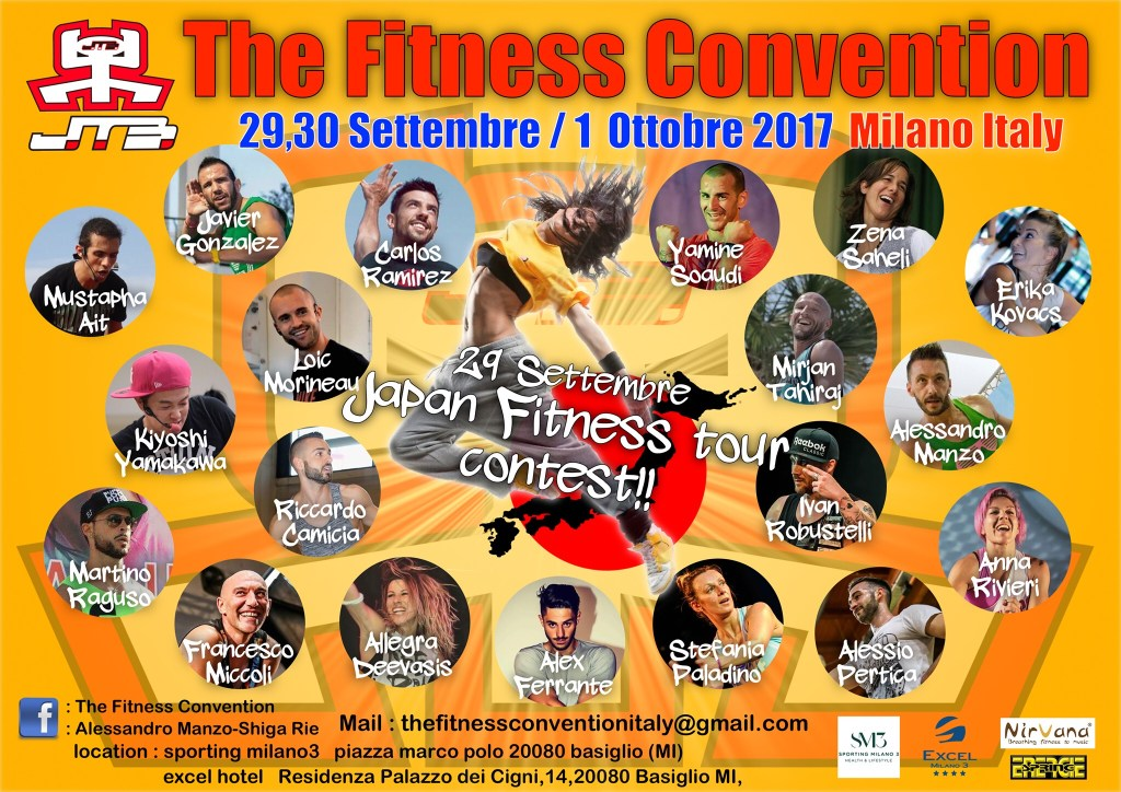 The Fitness Convention 29 30 settembre 1 ottobre