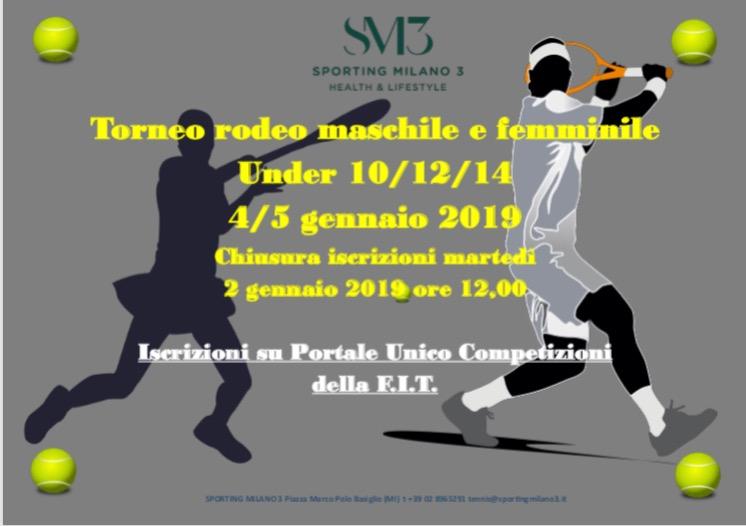 Torneo rodeo maschile e femminile 4 / 5 gennaio 2019