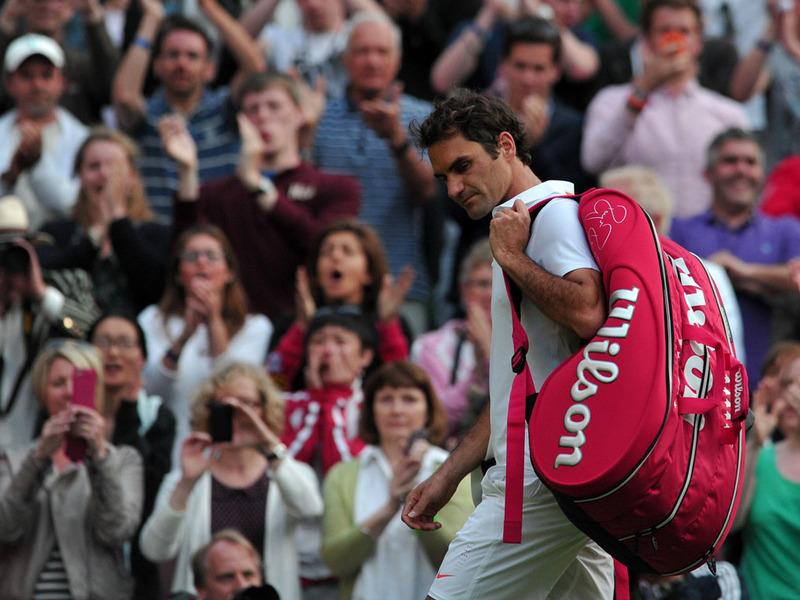 Federer a fost invins de Delbonis in semifinale la Hamburg
