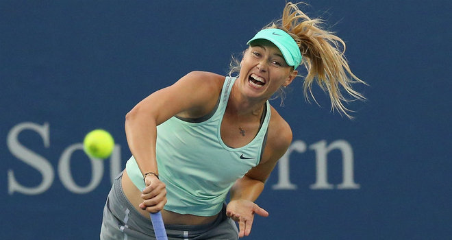 Sharapova nu va juca la US Open