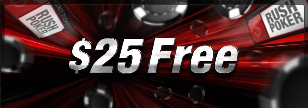 25 USD GRATIS fara depozit la FullTilt Poker – Rush Time